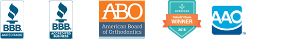 American Association of Orthodontists logos